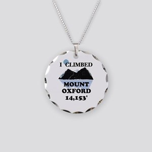 Mount Oxford Necklace Circle Charm