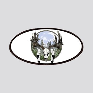Whitetail deer skull 7 Patches