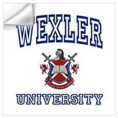 WEXLER University Wall Decal