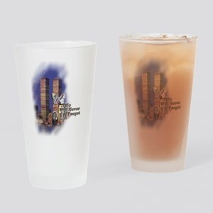 September 11, we will never forget - Drinking Glas
