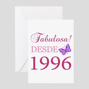 Fabuloso! Desde 1996 Greeting Card