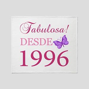 Fabuloso! Desde 1996 Throw Blanket
