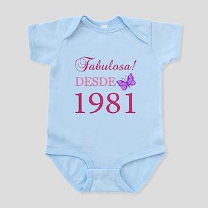 Fabuloso! Desde 1981 Infant Bodysuit