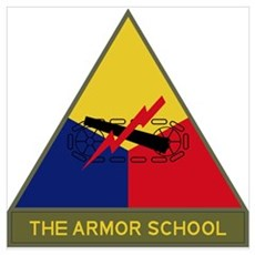 The Armor School Poster