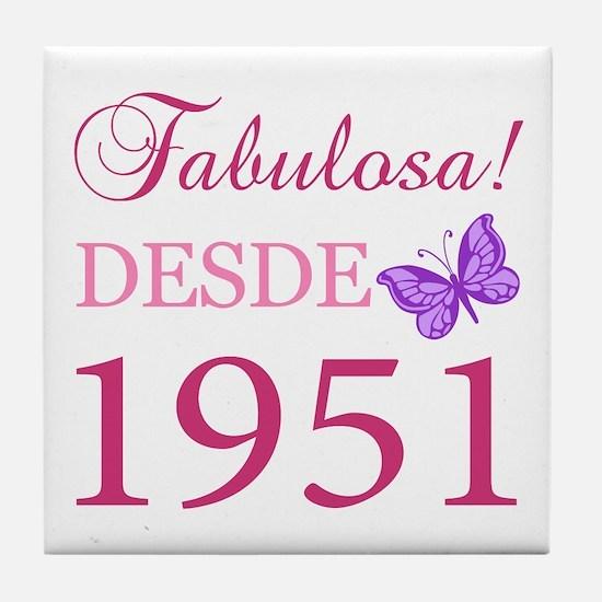Fabuloso! Desde 1951 Tile Coaster