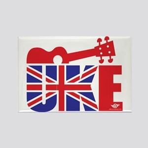 UK-E Ukulele Rectangle Magnet