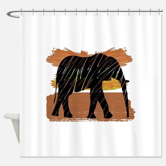 Cool Warthogs Shower Curtain