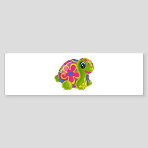 Groovy Turtle Bumper Sticker