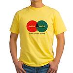 Circles Yellow T-Shirt