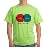Circles Green T-Shirt