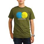 Circles Organic Men's T-Shirt (dark)