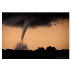 Tornado Canvas Art