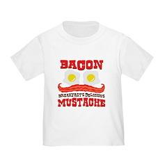 Bacon Mustache T
