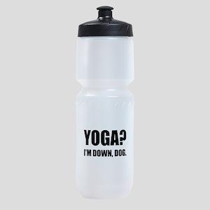 Yoga Down Dog Sports Bottle