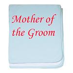 Mother of the Groom baby blanket