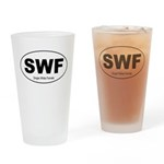 SWF - Single White Female Drinking Glass