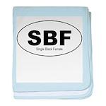 SBF - Single Black Female baby blanket