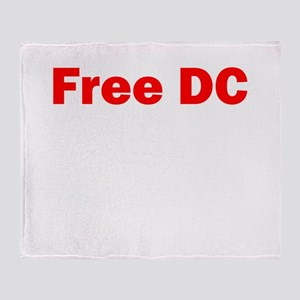 Free DC Throw Blanket