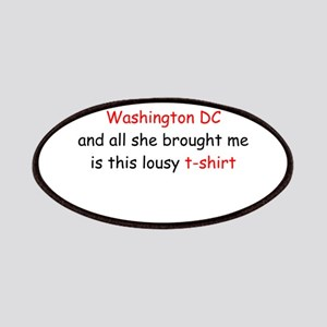 My Mother Went to DC Patches