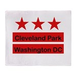 Cleveland Park Throw Blanket