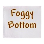 Foggy Bottom Throw Blanket