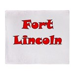 Fort Lincoln Throw Blanket