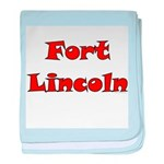 Fort Lincoln baby blanket