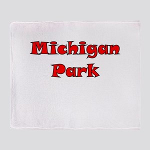 Michigan Park Throw Blanket