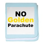No Golden Parachute baby blanket