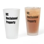 DC Unclaimed Property Drinking Glass