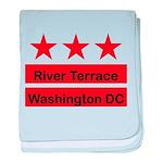 River Terrace baby blanket