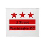 More U Street Throw Blanket