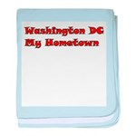 Washington DC My Hometown baby blanket