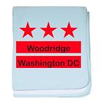Woodridge - D.C . Flag Inspir baby blanket