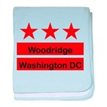 Woodridge - D.C . Flag Inspir baby blanket