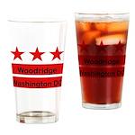 Woodridge - D.C . Flag Inspir Drinking Glass