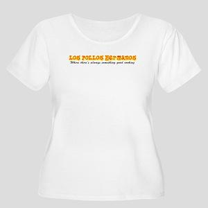 'Los Pollos H Women's Plus Size Scoop Neck T-Shirt