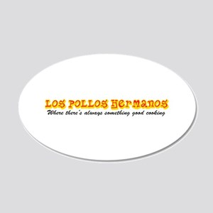 'Los Pollos Hermanos' 20x12 Oval Wall Decal