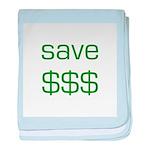 Save Dollars $$$ baby blanket