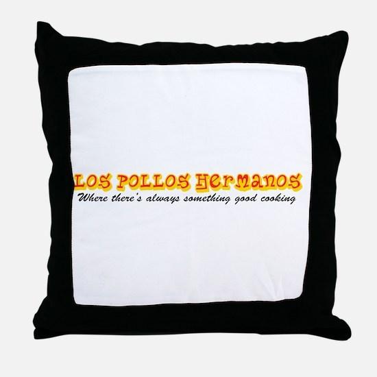 'Los Pollos Hermanos' Throw Pillow
