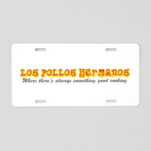 'Los Pollos Hermanos' Aluminum License Plate