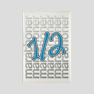 13.1 Half Marathoner Rectangle Magnet