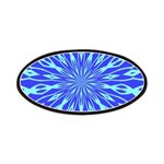 Blue Pattern 001 Patches