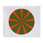 Holiday Pattern 001 Throw Blanket