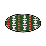 Green Pattern 002 Patches