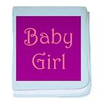 Baby Girl's Room baby blanket