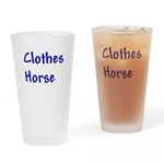 Clothes Horse Drinking Glass