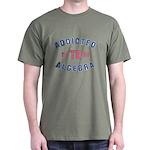 Addicted to Algebra Dark T-Shirt