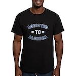 Addicted to Algebra Men's Fitted T-Shirt (dark)