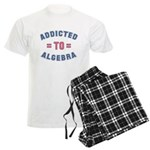 Addicted to Algebra Men's Light Pajamas